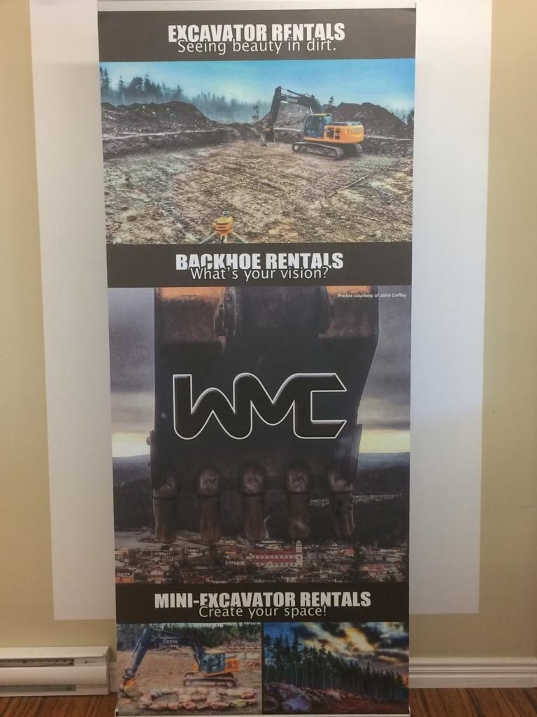 Pop-Up Banner - Construction Company