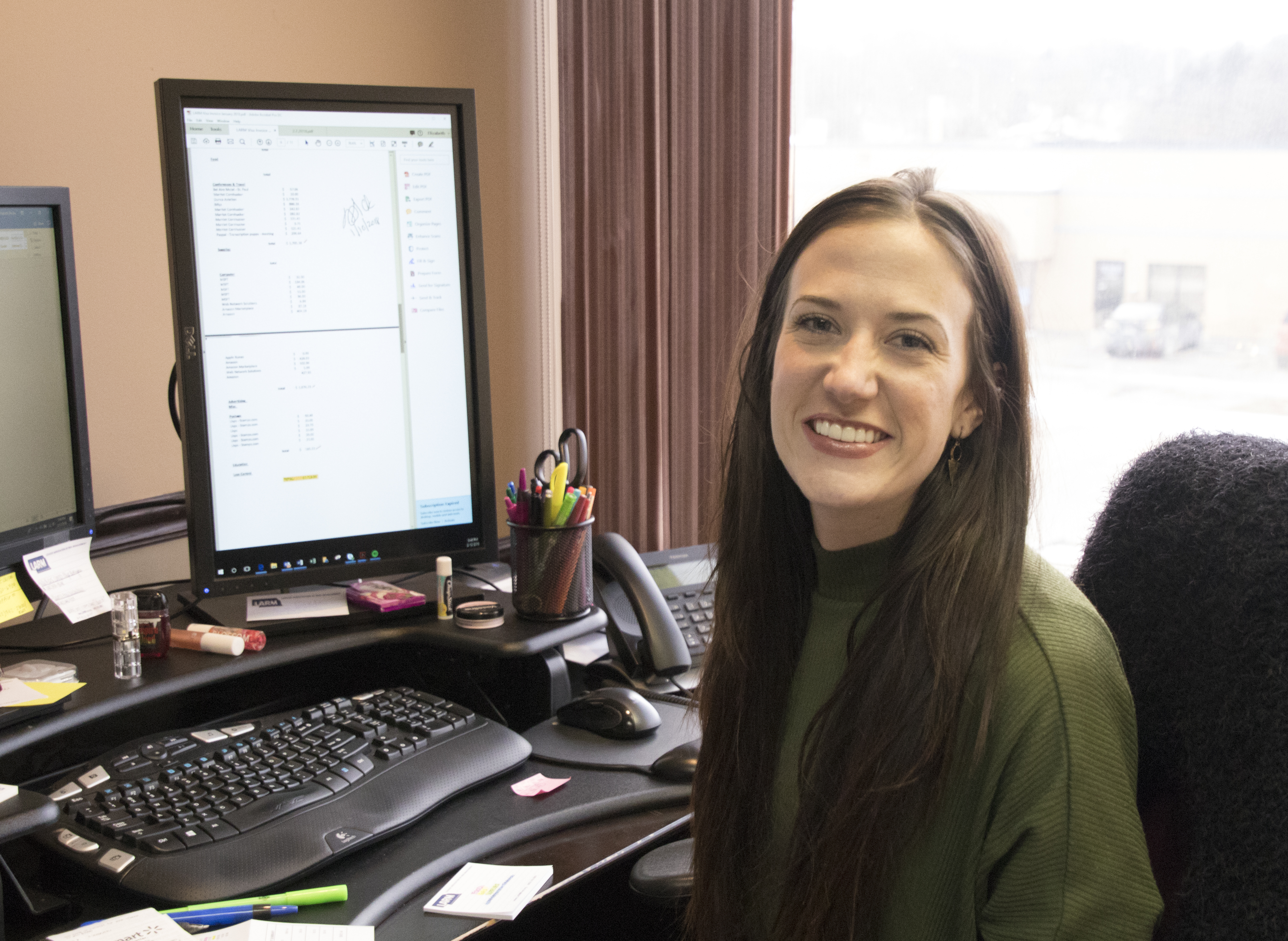 New Executive Administrative Assistant at LARM