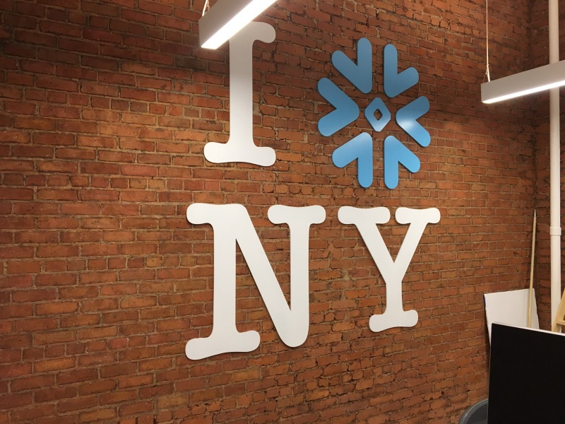 Lobby Office Sign