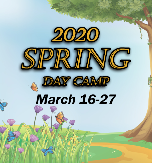 2020 Spring Day Camp