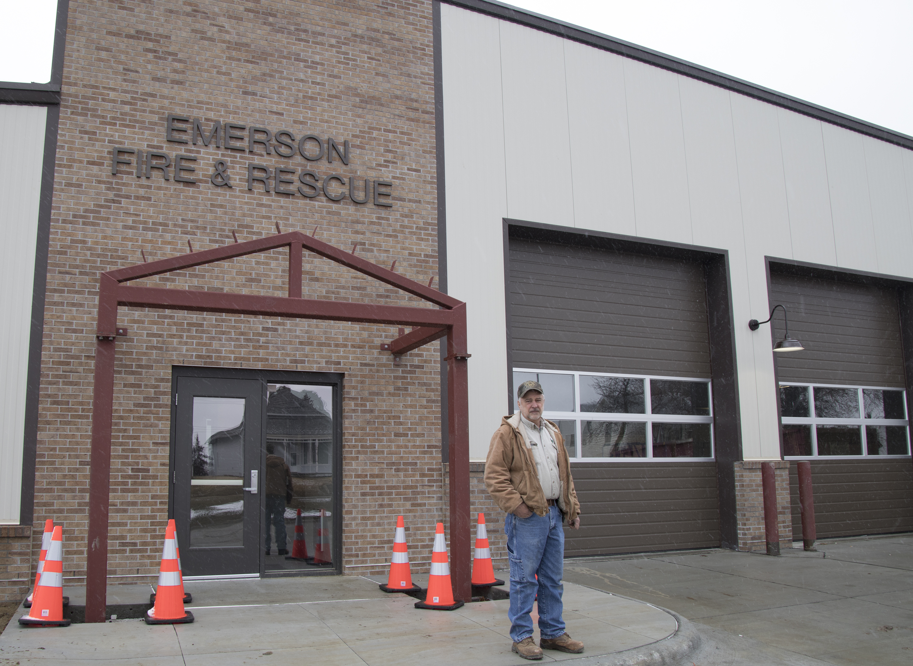 Village of Emerson gets new fire hall