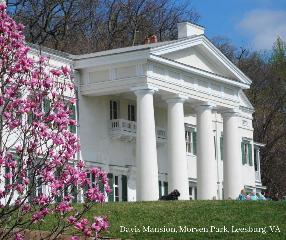 Davis Mansion at Morven Park To Resume Tours This Month!