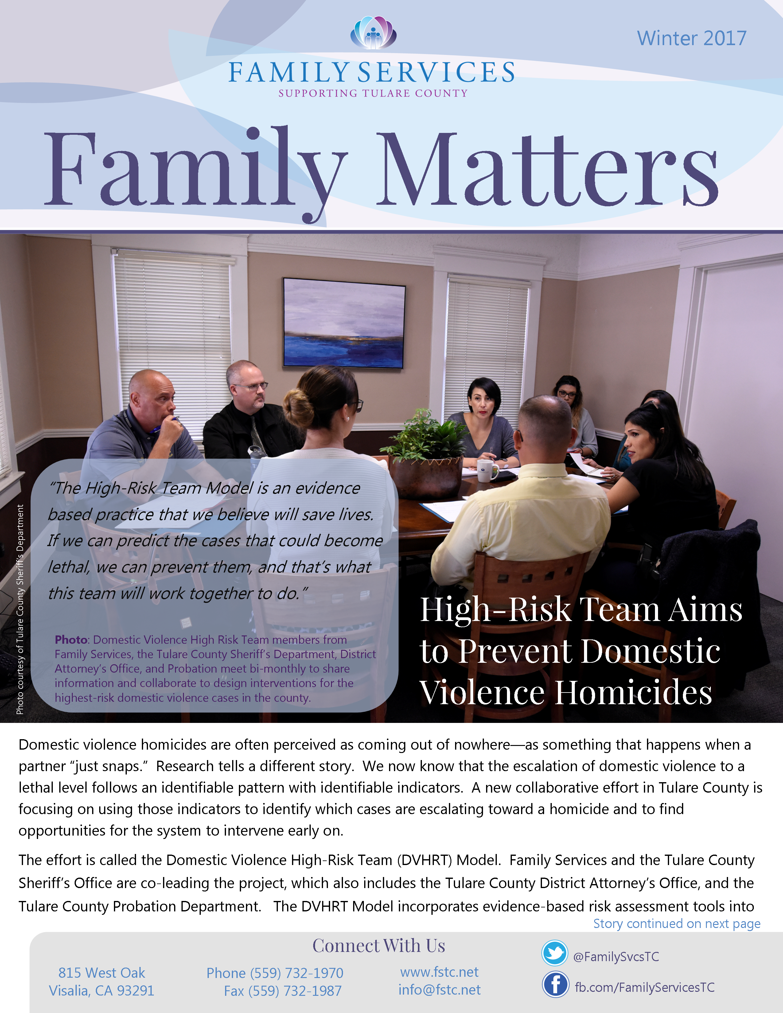 High Risk Team Aims To Prevent Domestic Violence Homicides