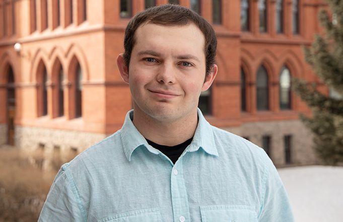 Montana Western Student Tristan Stockton Receives Student Volunteer Award