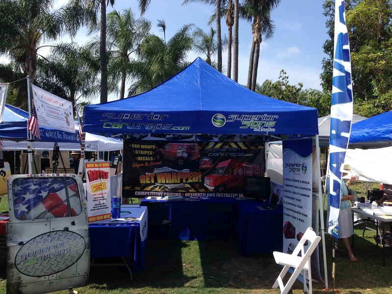 Outdoor Trade Show Booth
