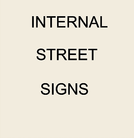 2. - KA20650 - Internal Street Signs