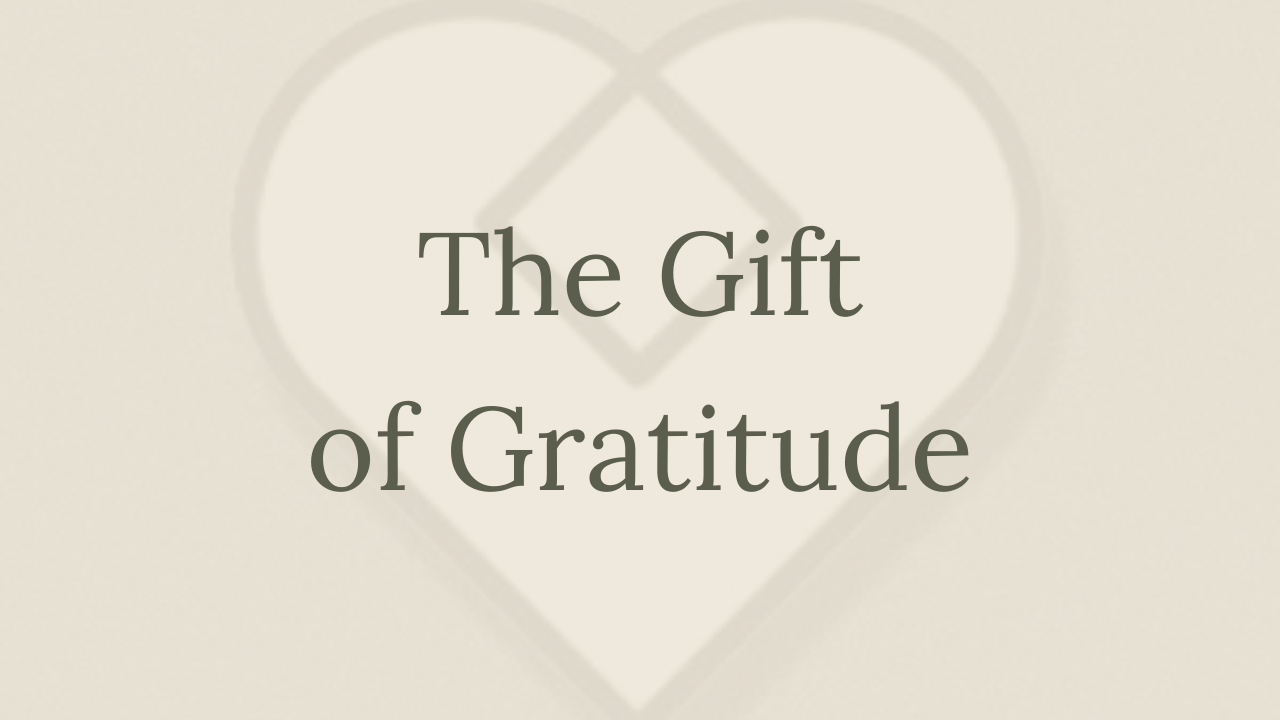 Mental Health Minute: The Gift of Gratitude