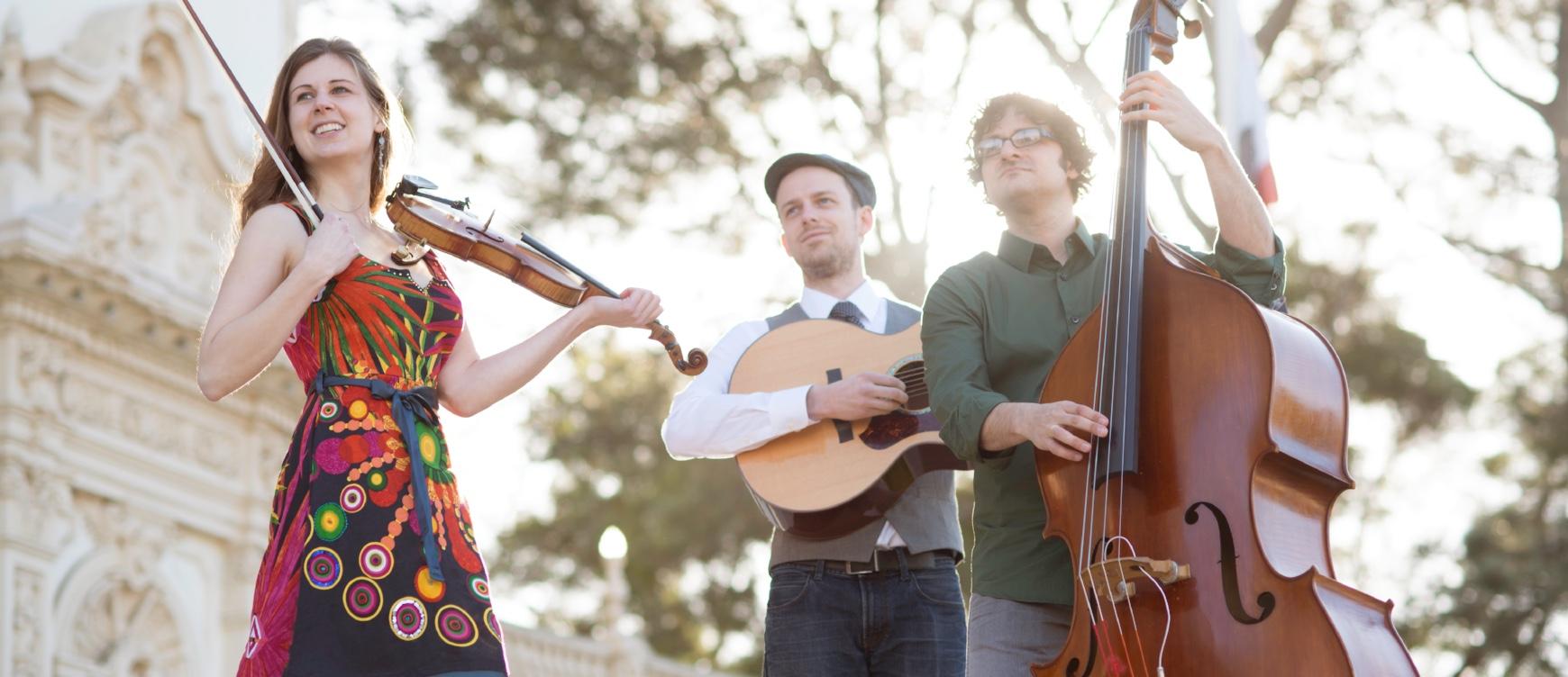 Mari Black and the World Fiddle Ensemble