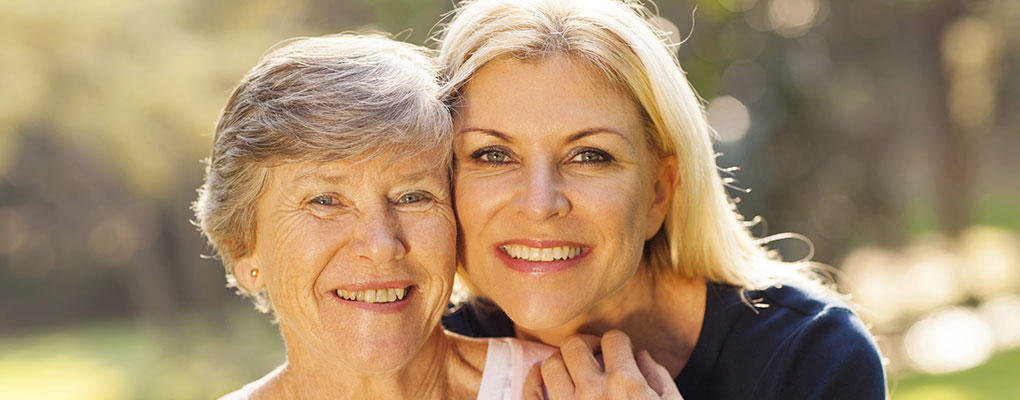 Older Woman with Adult Daughter