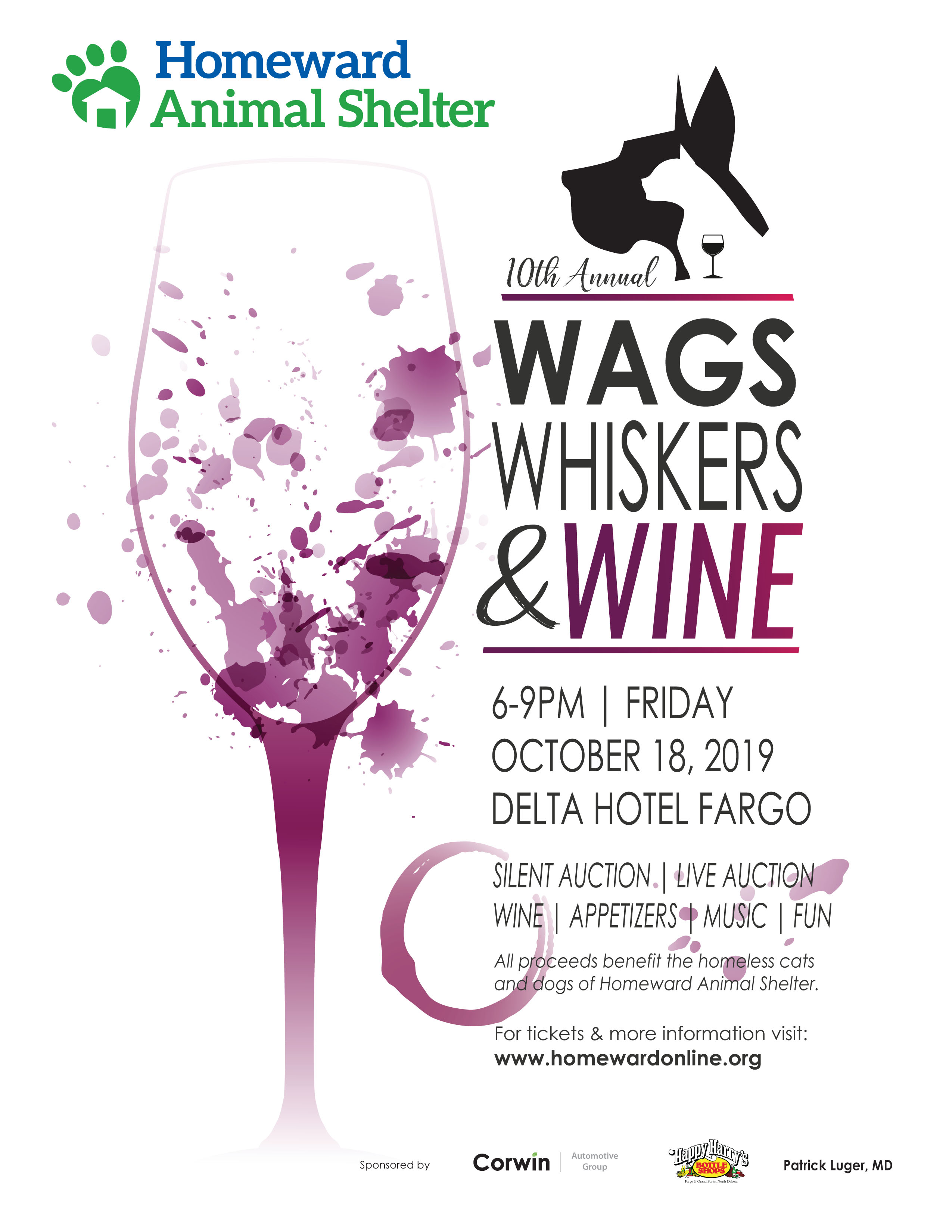 Wags, Whiskers & Wine