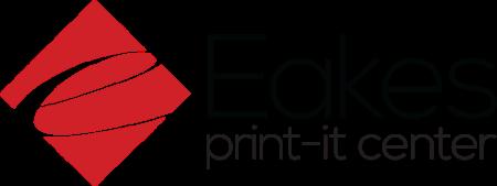Eakes Print It Center Logo
