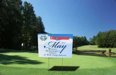 Golf Outing Sign