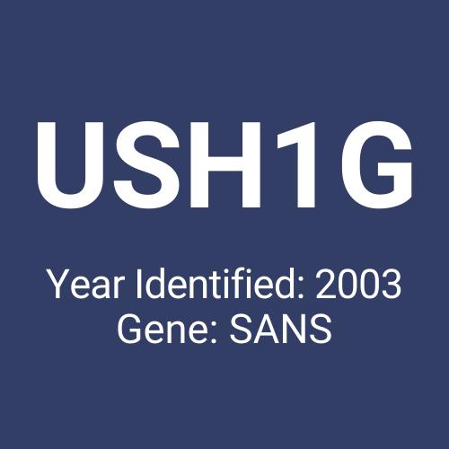 USH1G (Year Identified: 2003 | Gene: SANS)
