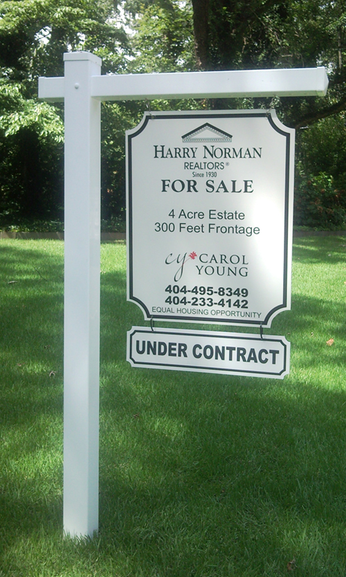 Real Estate Signs : Real estate signs site atlanta ga
