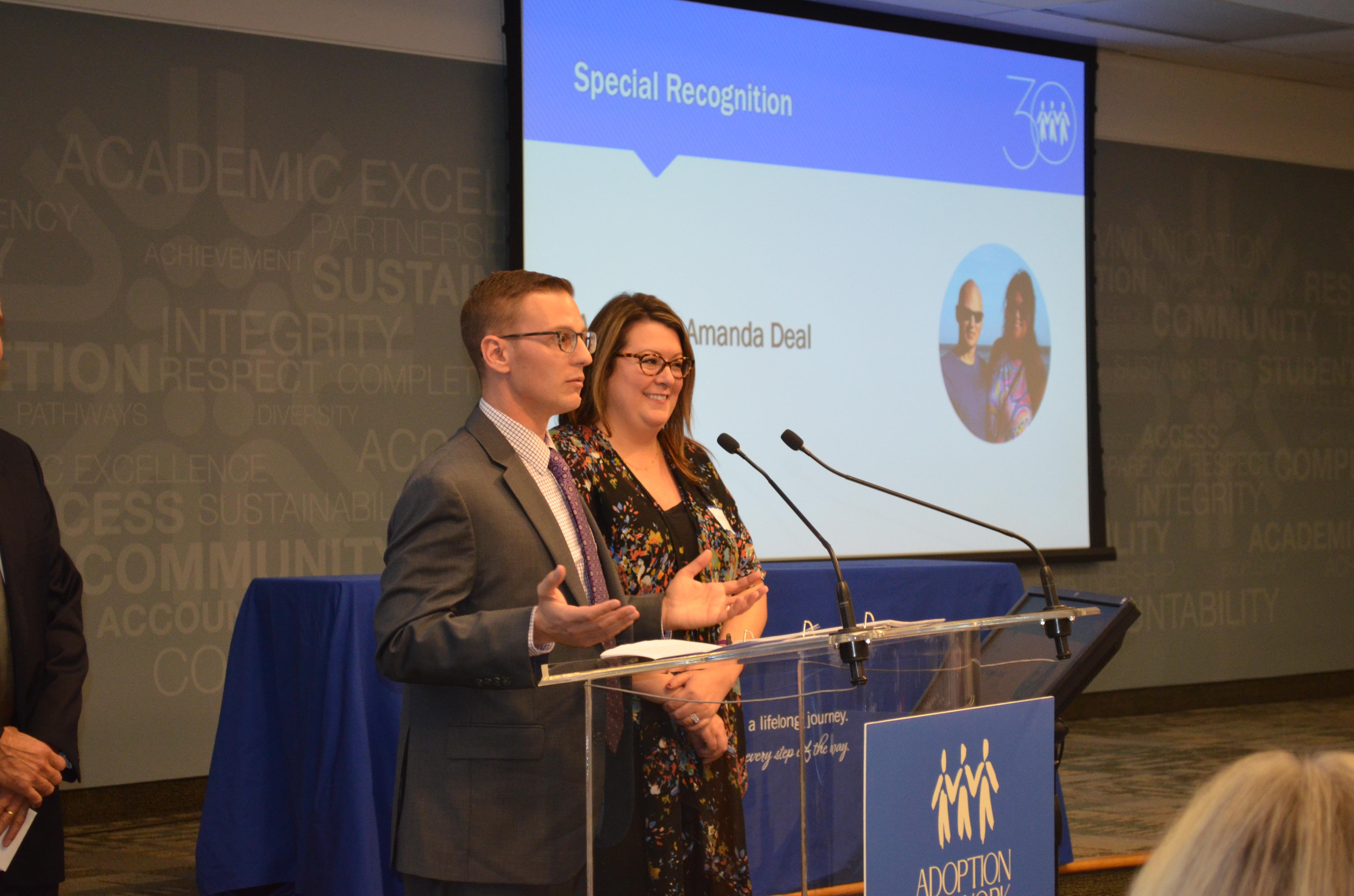 Adoptive Parents Receive Special Recognition Award