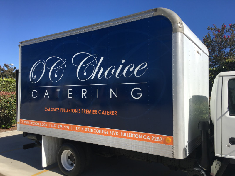 Box Truck Graphics in Orange County CA