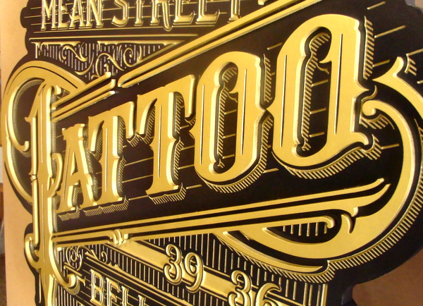 Metal Sign 951 Tattoo Shop Signs Modern Style Tattoo Sign Tattoo Shop Sign Home Decor Plaques Signs Modern Home Decor Plaques Signs