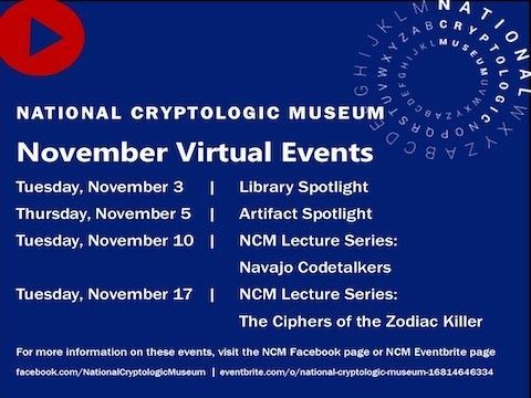NCM Virtual Events in November