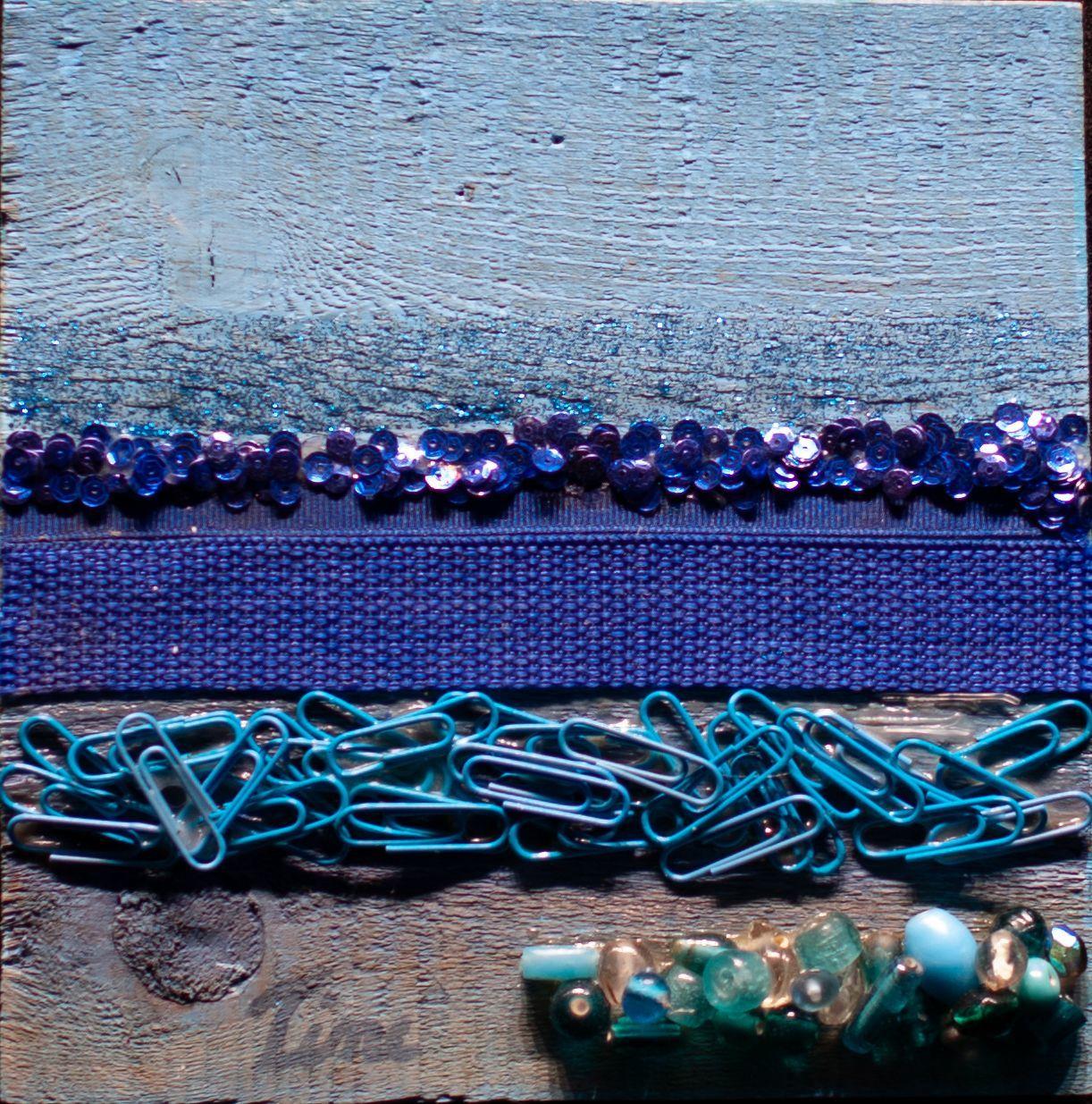 """""""Ribbon in Blues"""" - Christine Boris-Almeide"""