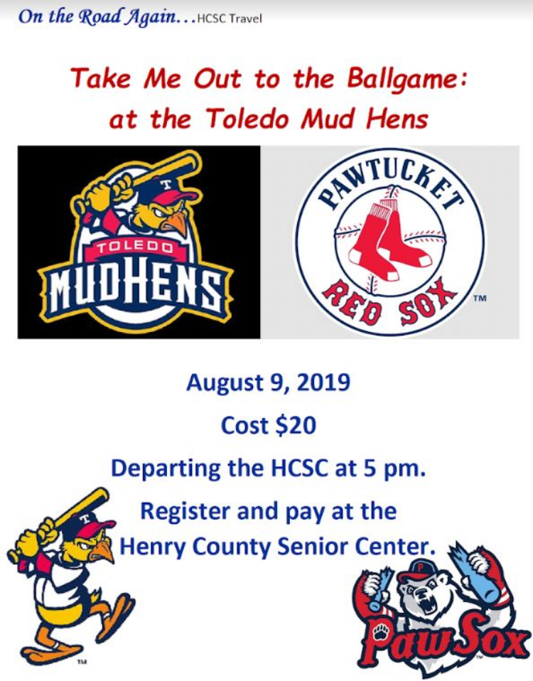 August 9 Toledo Mud Hens vs PawSox