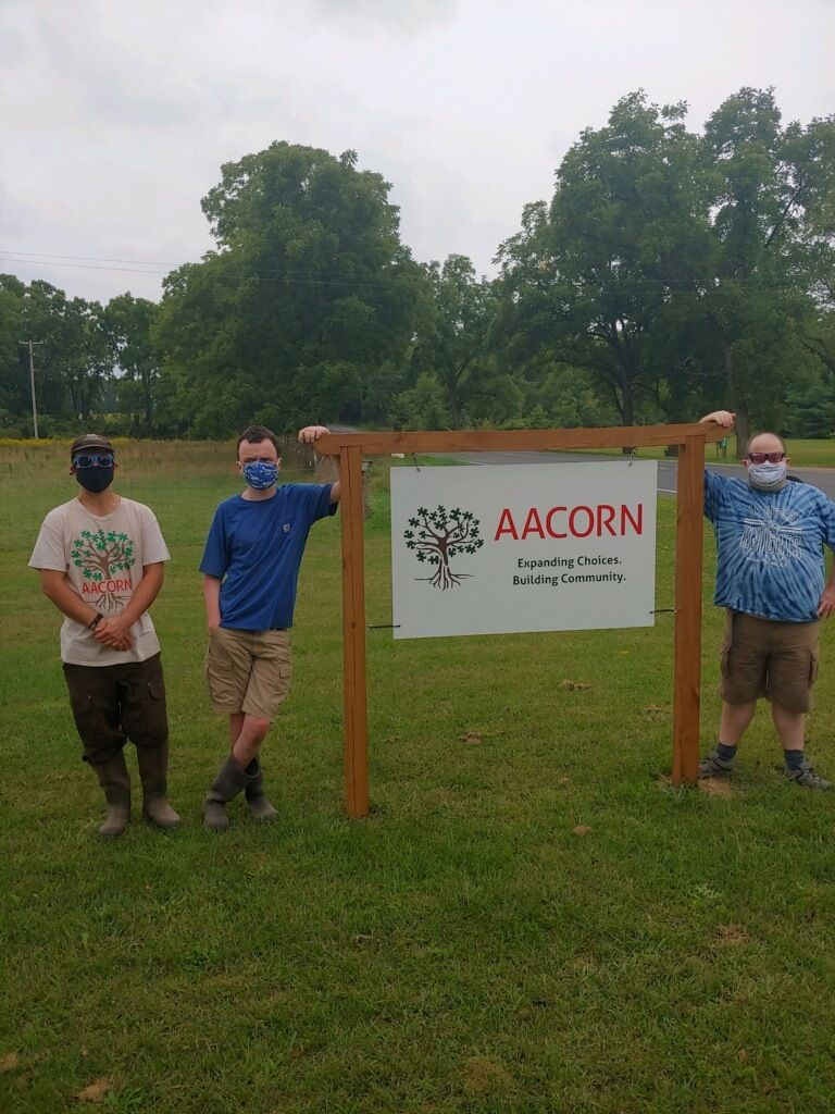 New sign announces AACORN