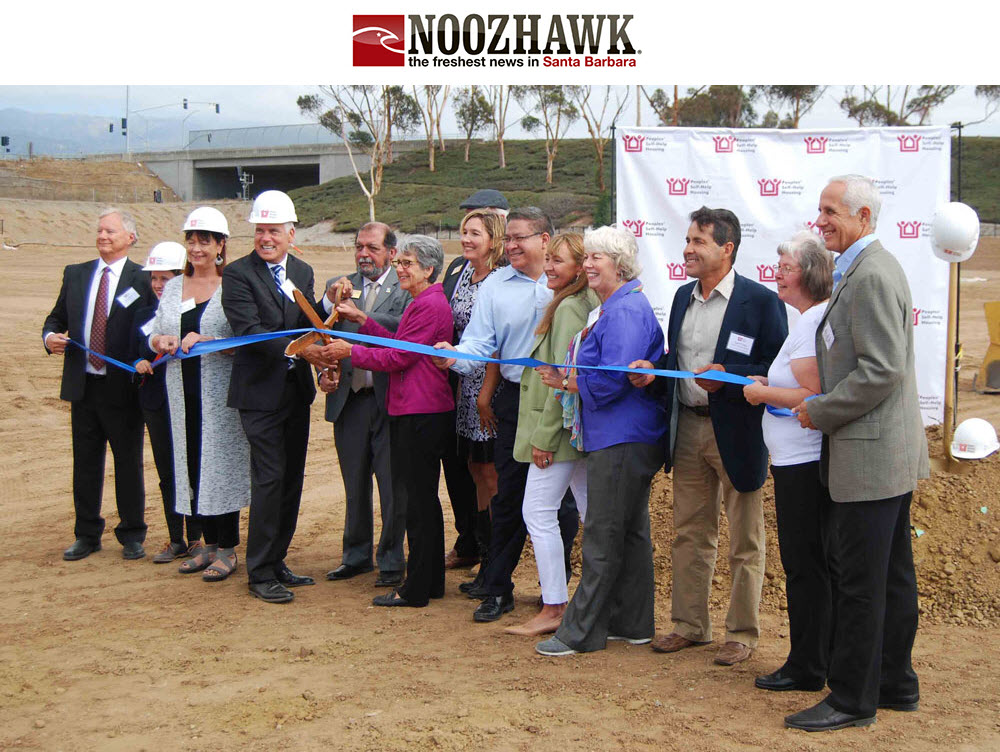 Peoples' Self-Help Housing Breaks Ground for Affordable-Housing Development in Goleta - Noozhawk