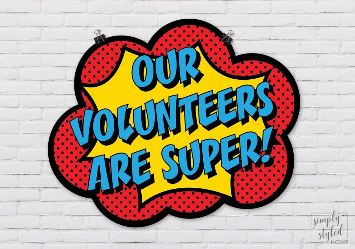 Volunteer Appreciation Month!