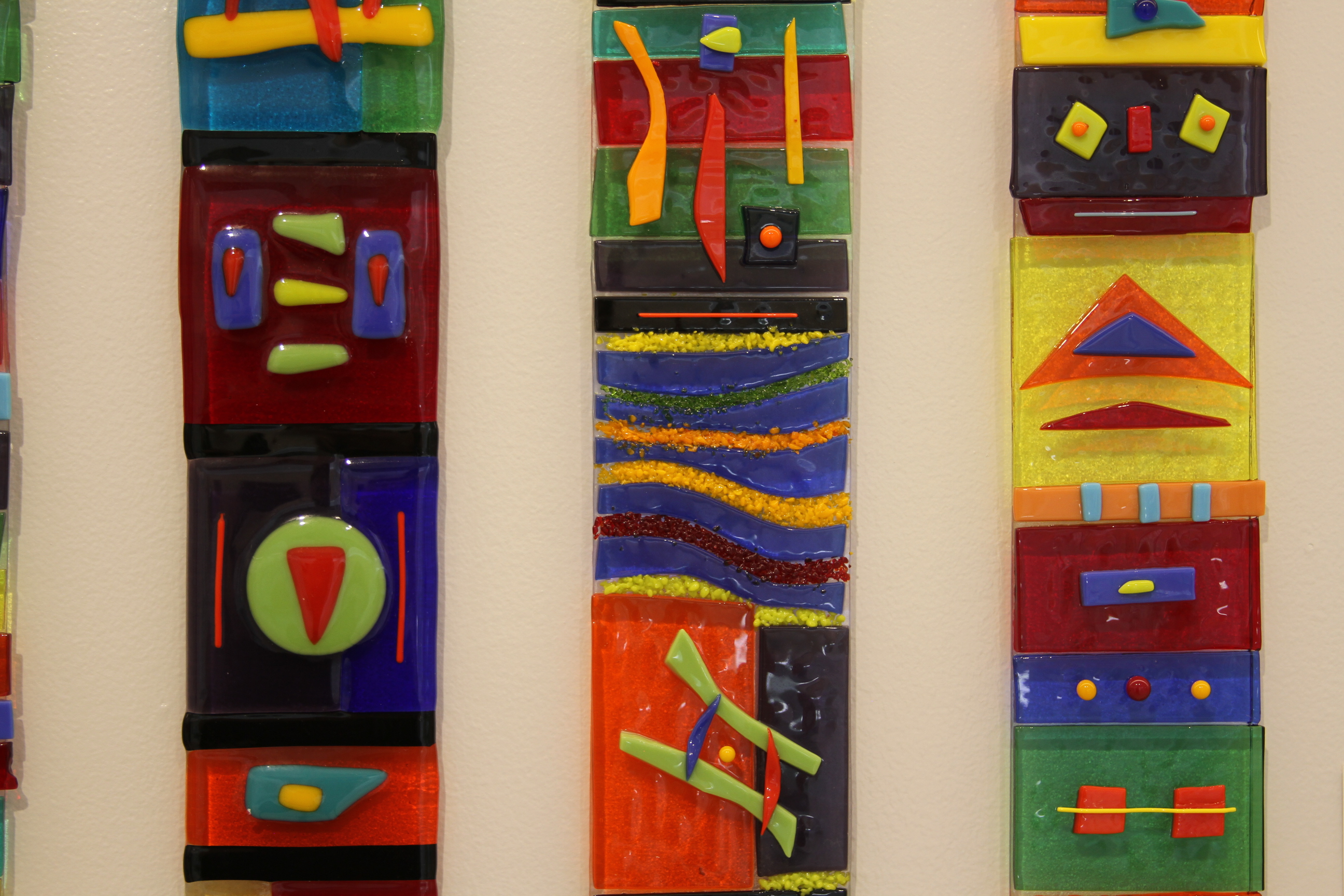 Primary Colored Totems
