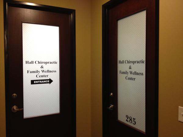 Chiropractor Door Designs