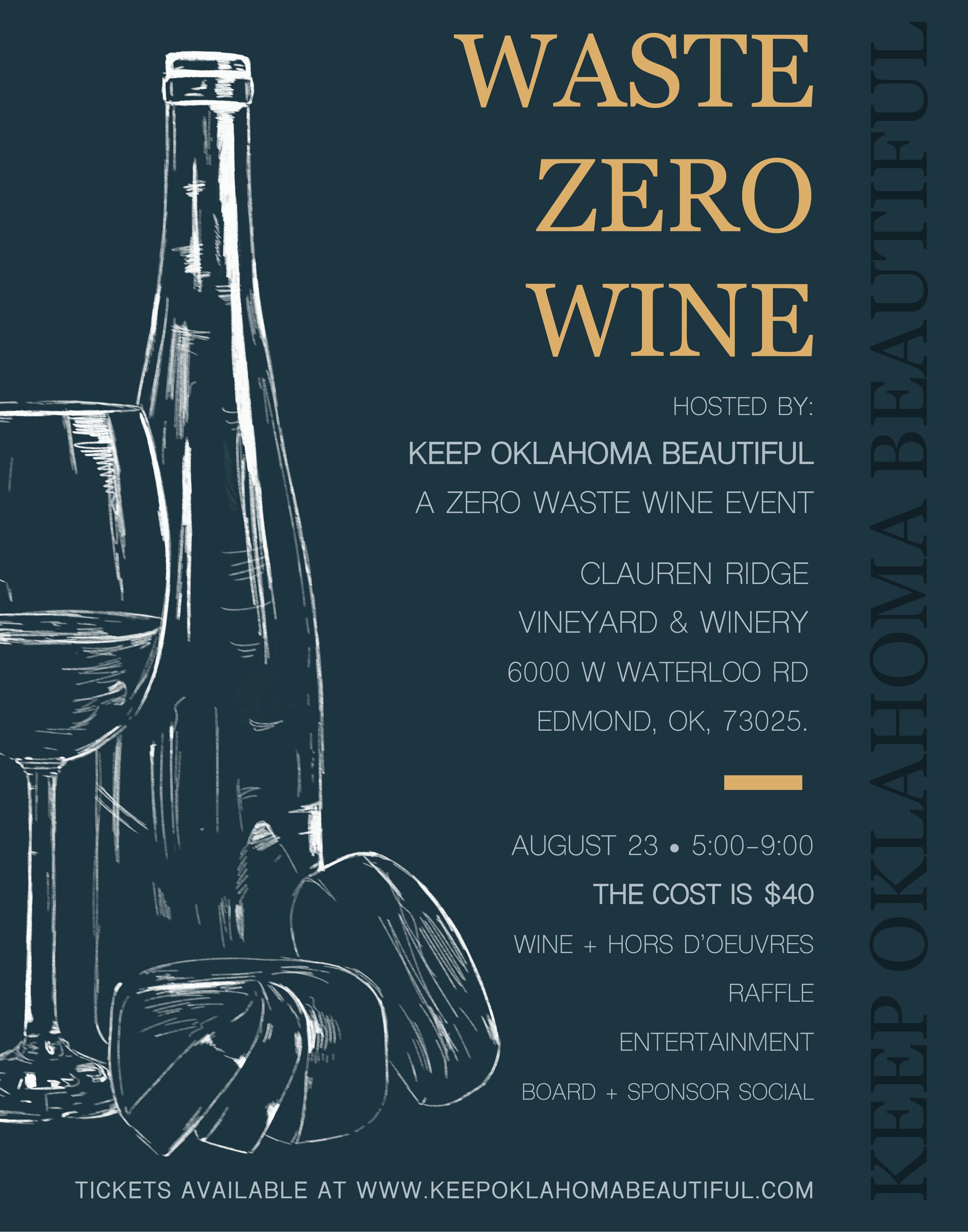 Waste Zero Wine