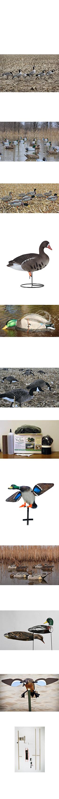 Fooling Birds: Duck & Goose Decoys