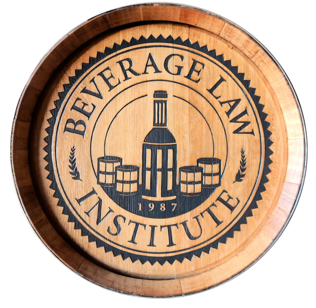 RB27160 - Engraved Cedar Wall Plaque for the Beverage Law Institute