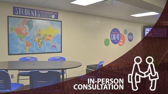 Descon in person consultation link, custom signs, school signage company, school graphics