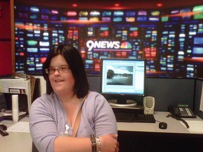 Hannah at 9 News