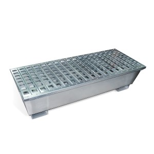 A01PF328 Steel Containment 4 Drum Pallet