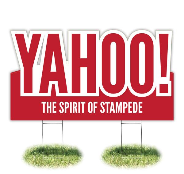 Lawn Sign: Yahoo-03