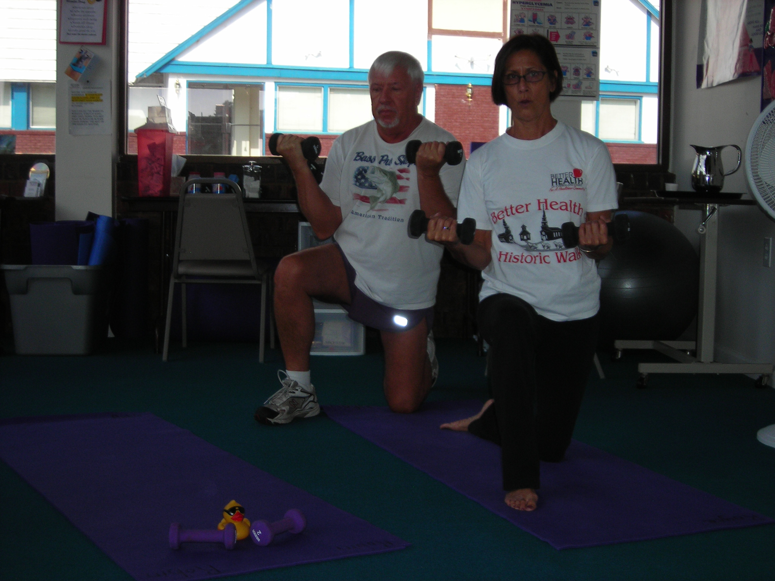 Join our exercise classes