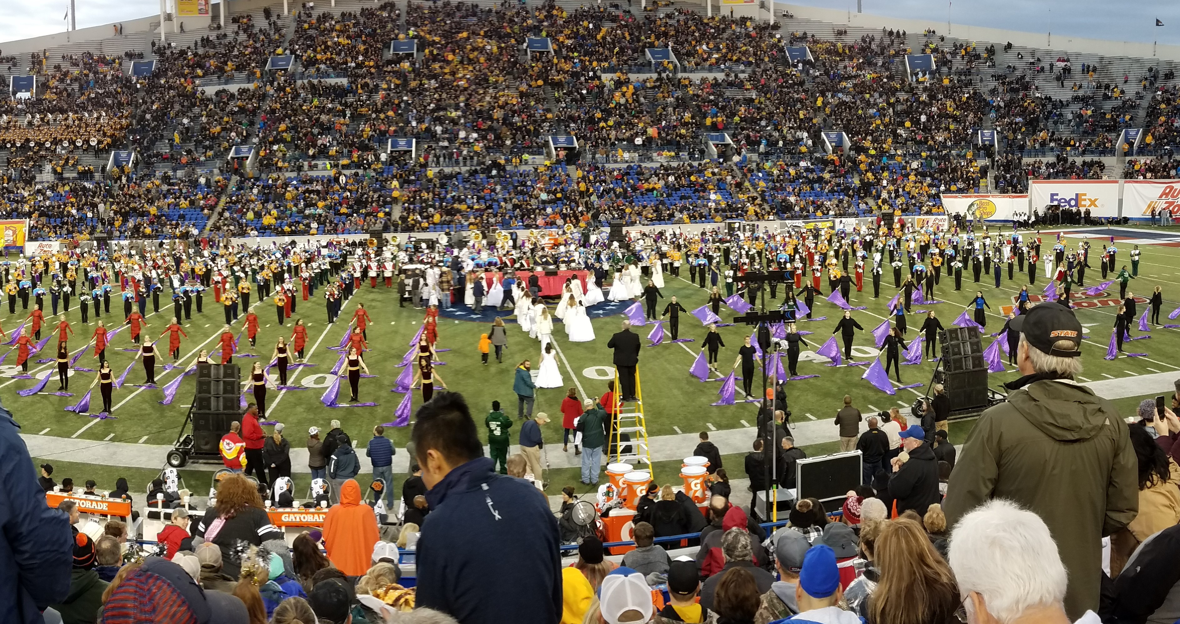Marching Band Brings Methacton Pride to Liberty Bowl