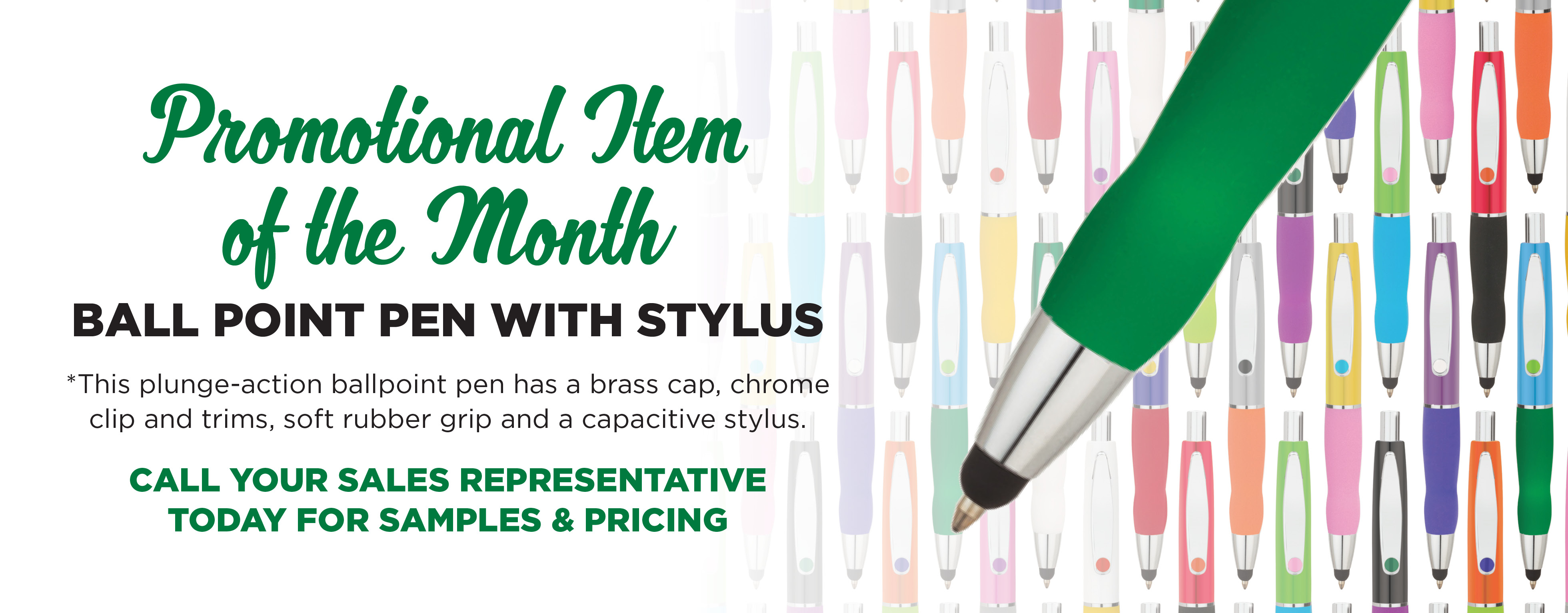 Promotional Product of the Month