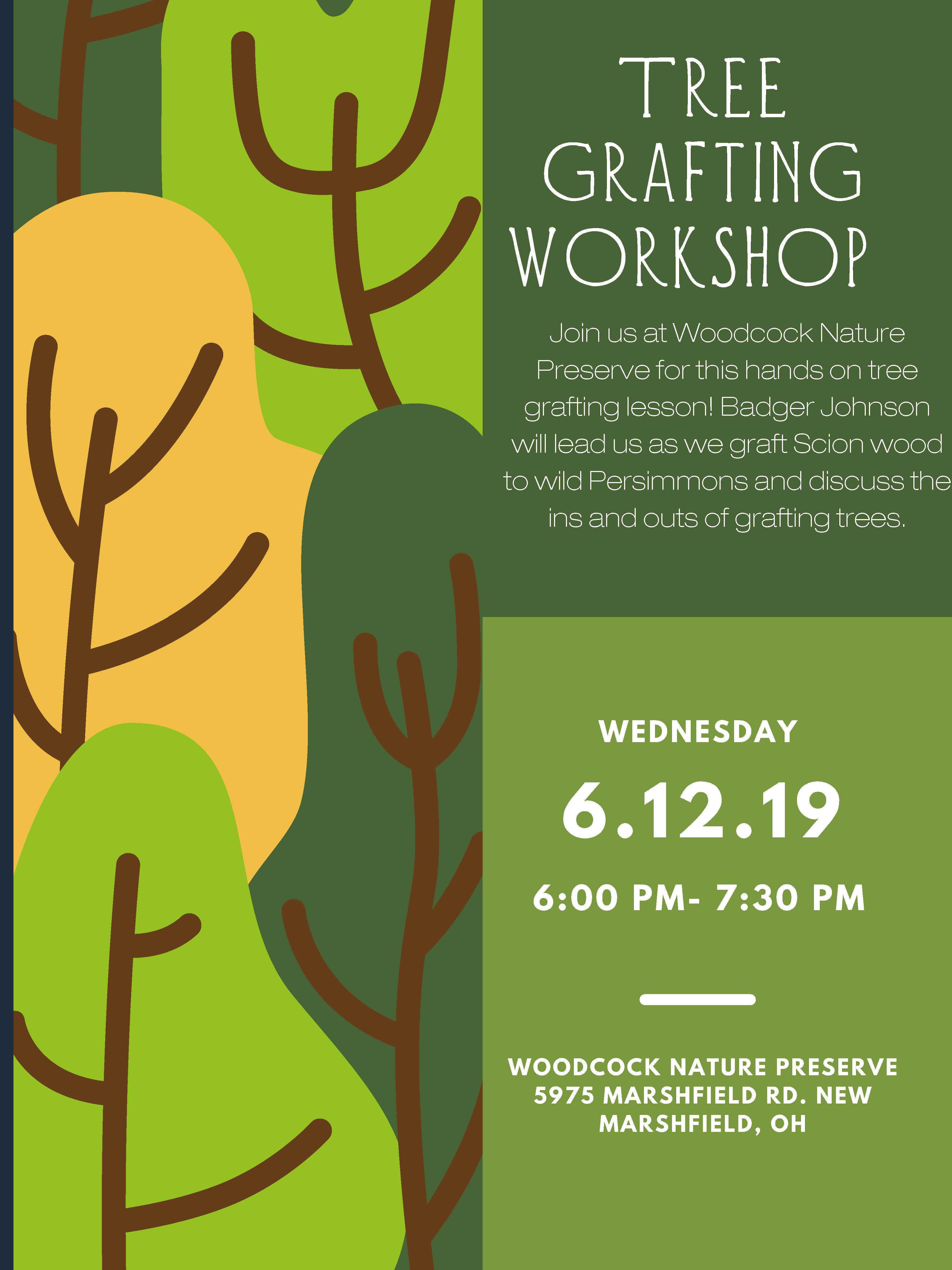 Tree Grafting Workshop