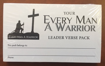 Every Man A Warrior Leader's Verse Pack