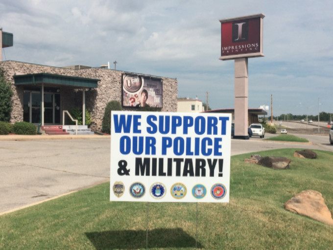 Support Police & Military