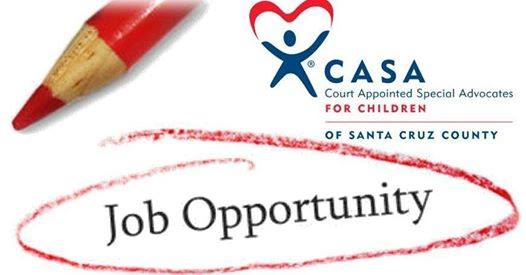 Employment Opportunity at CASA: Administrative Assistant
