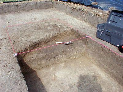 Excavation block