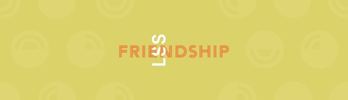 Graphic: LSS Interlocking with the word Friendship.