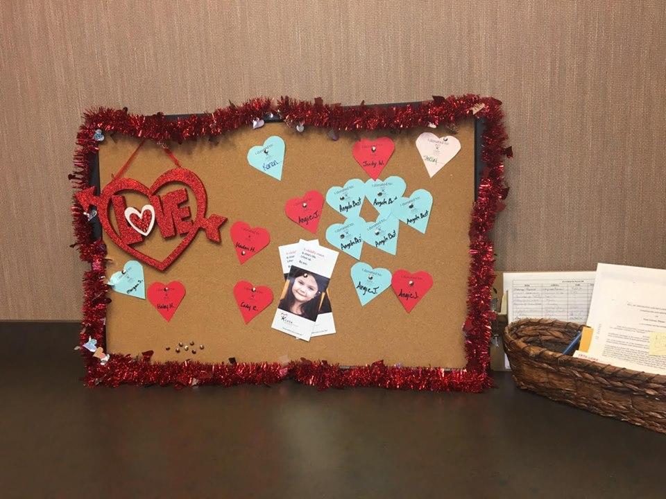 Wall of Hearts Fundraiser