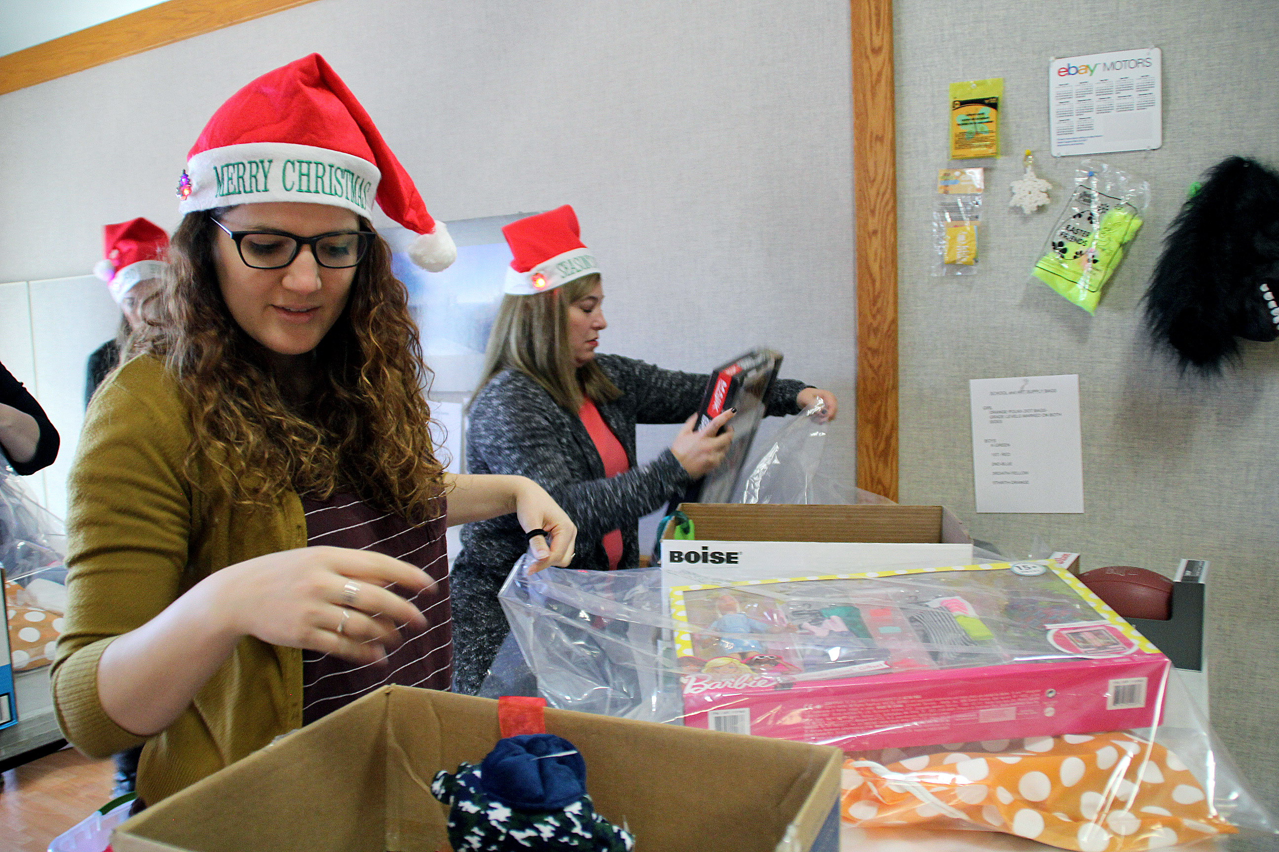 ABC 4 News: Volunteers Help Santa Deliver Cheer