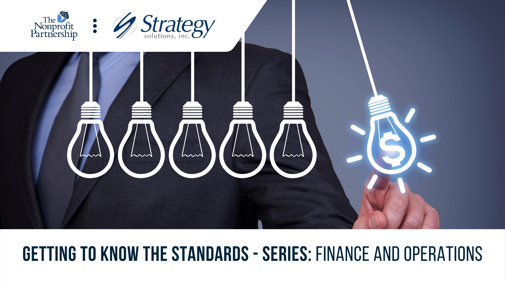 [Zoom Meeting] Getting to Know the Standards - Series: Finance and Operations