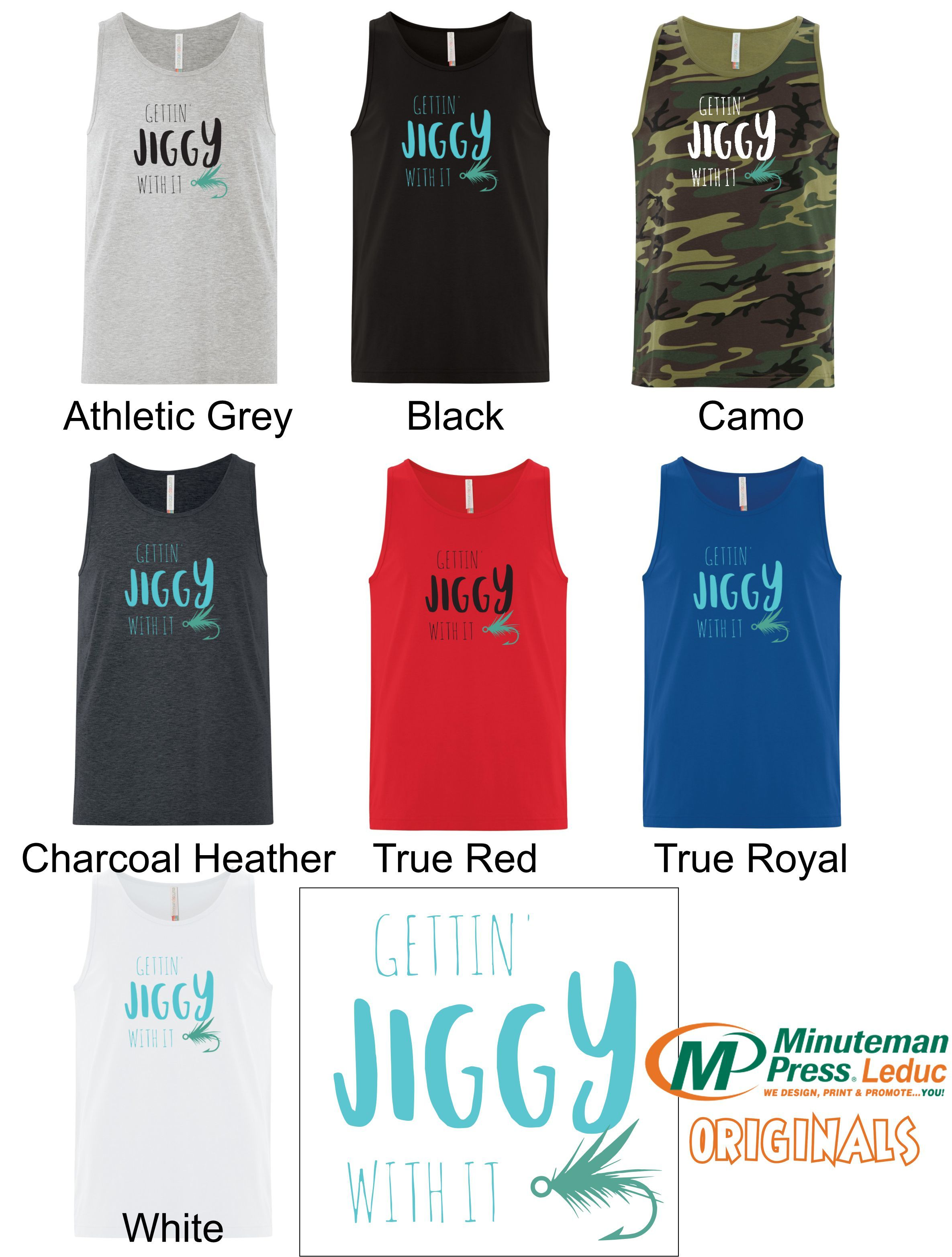Getting Jiggy with it - Mens Tank