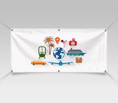Vinyl Grommet Banners